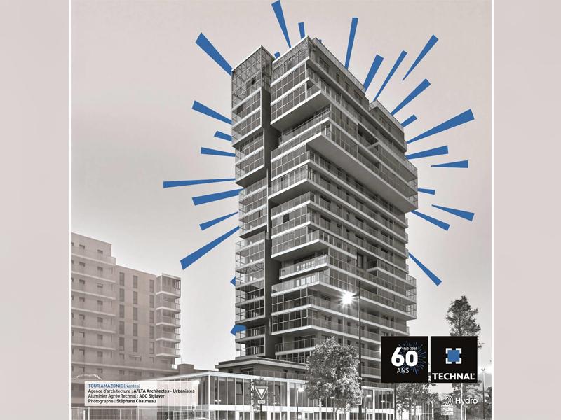 La marque française TECHNAL célèbre ses 60 ans - Batiweb