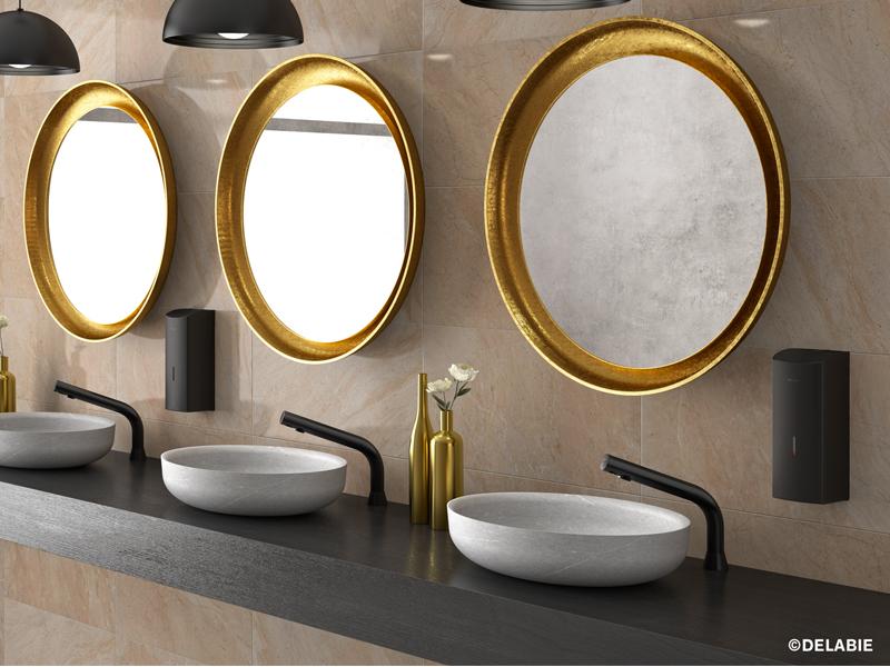 BINOPTIC - BLACK SPIRIT : robinetterie design pour des sanitaires haut de gamme - Batiweb