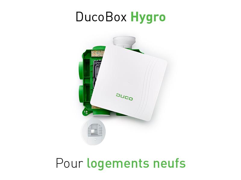 DucoBox Hygro : La VMC simple flux hygroréglable pour maisons neuves - Batiweb