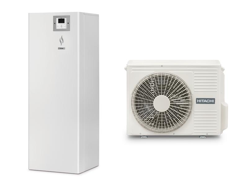 Pompe à chaleur air/eau YUTAKI S COMBI R32 : la solution split réversible, compacte et performante, intégrant l'ECS - Batiweb