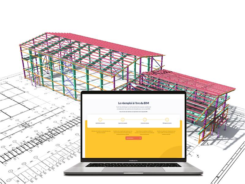 CYCLE UP, première plateforme de réemploi connectée à la maquette numérique - Batiweb