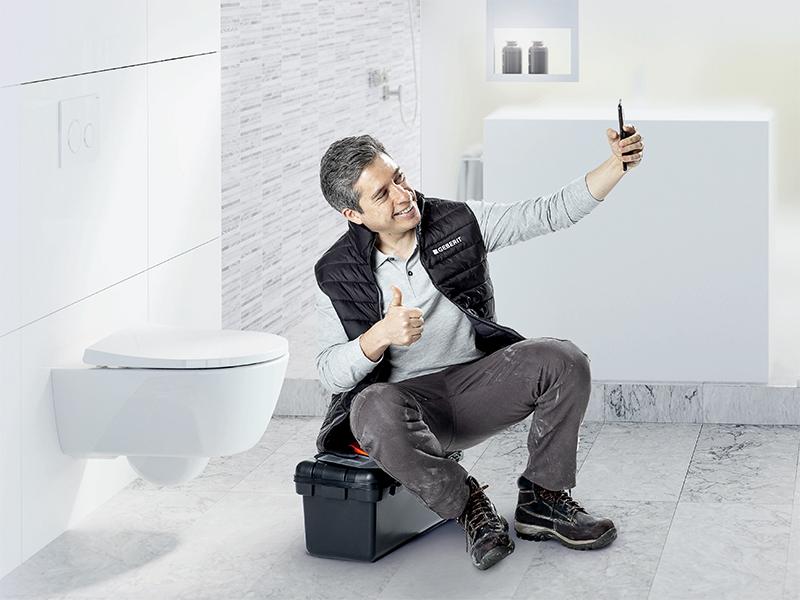 Envie de sérénité ? WC suspendu Geberit - Batiweb