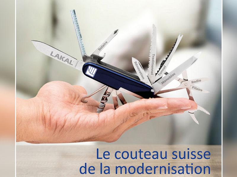 LAKAL propose le couteau suisse de la modernisation - Batiweb