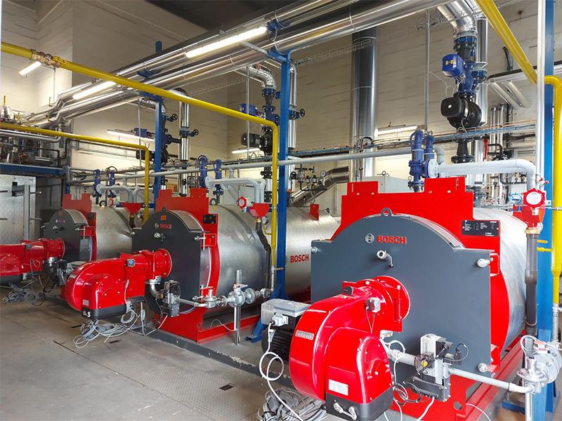 Rénovation d'une chaufferie sur le site Bosch de Drancy (93) : Performances, réactivité et agilité sur un chantier mené en période de crise sanitaire COVID-19 - Batiweb