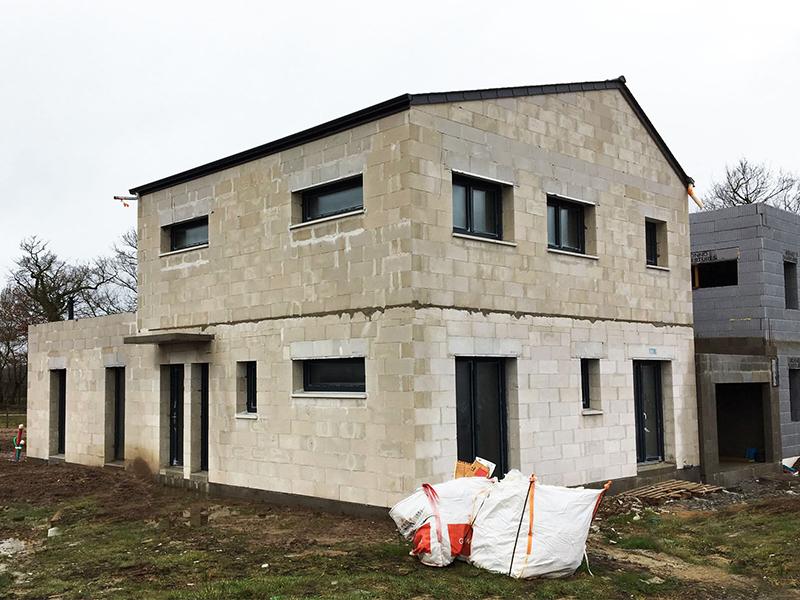 Des maisons passives en Ytong Energie au sein du plus grand écoquartier de France à Carquefou - Batiweb