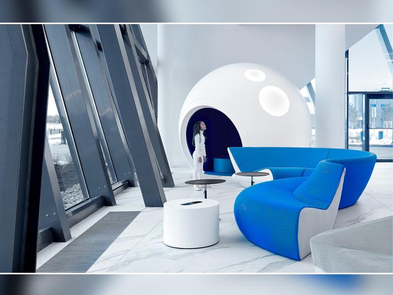 Gagarin airport : une architecture cosmique inspirée par l'infini et au-delà - Batiweb