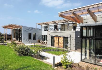 Maison, Donville-les-Bains (50) - AZENGAR et QUARTZ-ZINC - Crédit photos : VMZINC, JVArchi & Associés