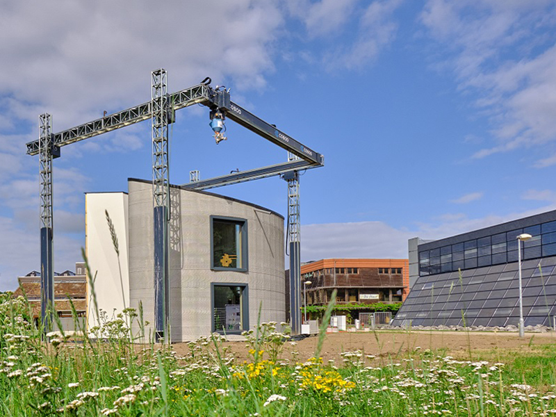 Recticel Insulation participe à un projet innovant de construction 3D de Kamp C à Westerlo - Batiweb
