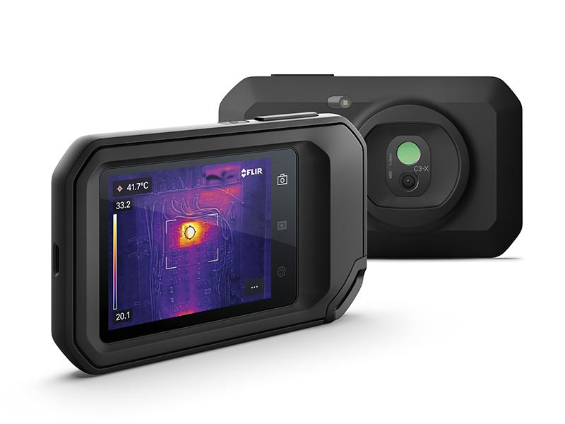 FLIR présente la nouvelle caméra thermique compacte C3-X - Batiweb