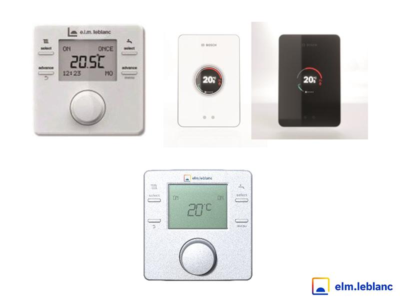 « Coup de pouce Thermostat avec régulation performante » : elm.leblanc propose un panel de systèmes de régulation connectée pour le chauffage - Batiweb