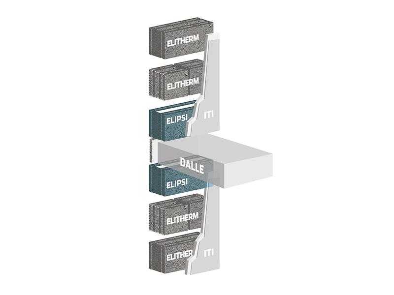 R+MuR, la solution en granulats courants pour l'optimisation de la performance thermique des bâtiments à étages - Batiweb