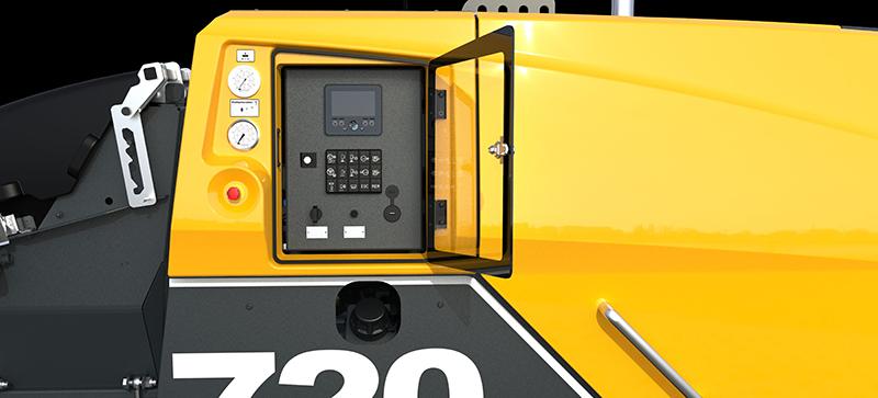 Le panneau de commandes clair et intuitif des P 720 et P 730