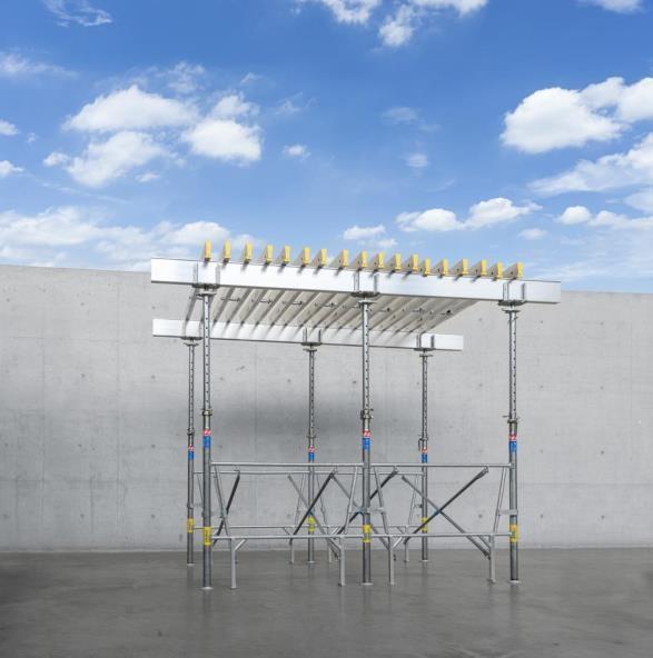Système applicable avec notre système Flex, poutrelles Alu Tec-2