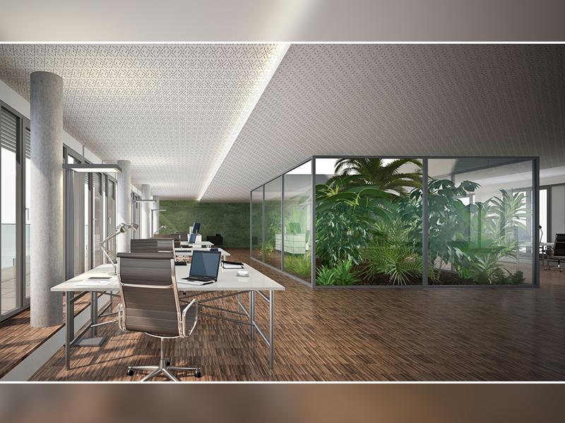Siniat lance HELIX, une collection acoustique au design novateur pour plafonds et murs - Batiweb