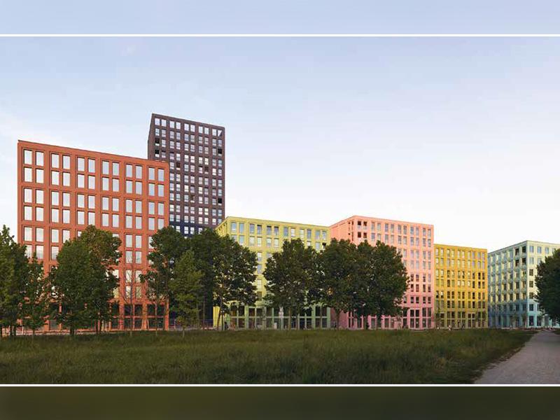 La lasure pour béton KEIM CONCRETAL fait le lien entre l'histoire et la modernité sur l'ilot Saint-Urbain à Strasbourg - Batiweb