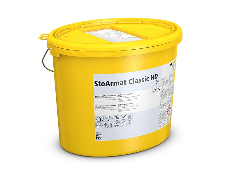 Sto innove avec StoArmat Classic HD, un nouveau sous-enduit d'ITE bi-composant pour augmenter la productivité l'hiver - Batiweb