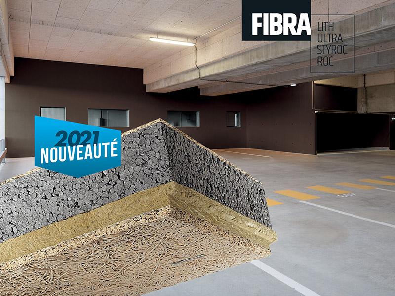 Des projets d'isolation en sous-faces de dalles ? Knauf vous présente ses nouveautés 2021 Knauf Fibra® ! - Batiweb