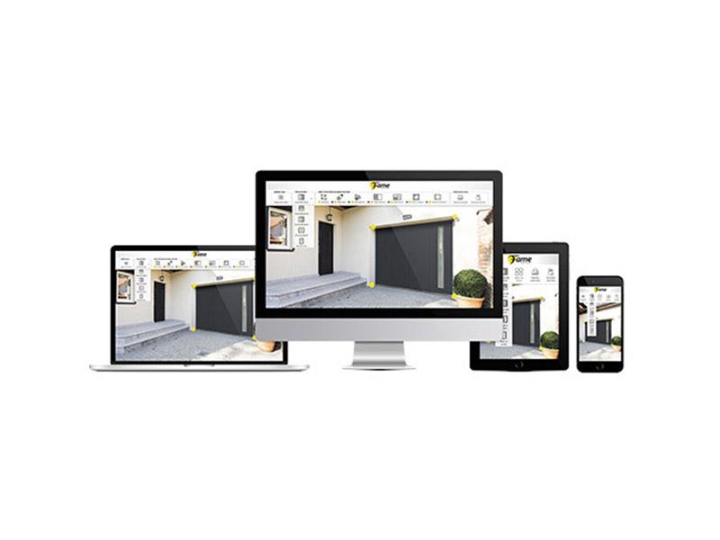 FAME met en ligne gratuitement son tout nouveau configurateur de portes de garage - Batiweb