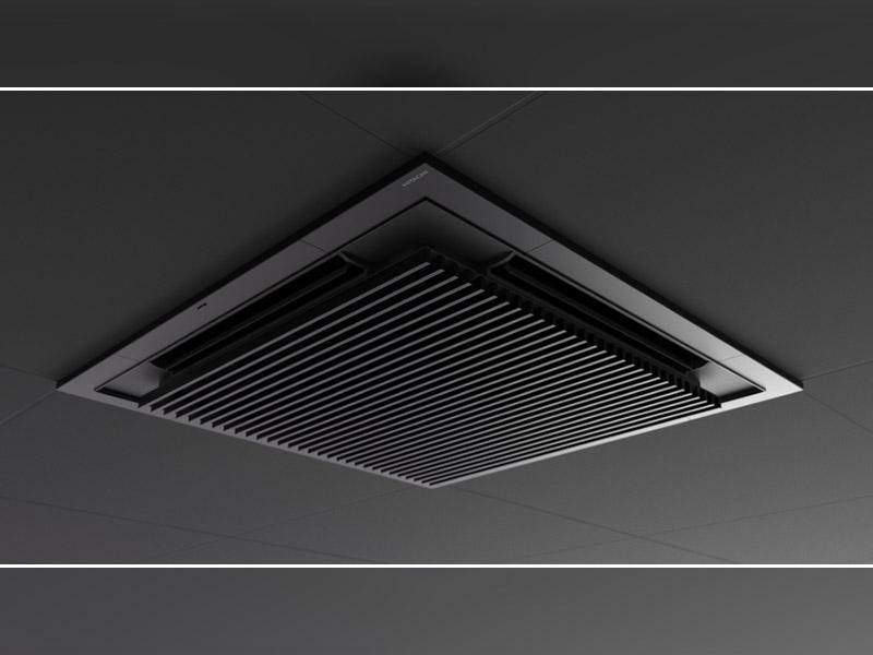 Silent Iconic : la nouvelle façade de cassette Premium au design primé, par Hitachi - Batiweb