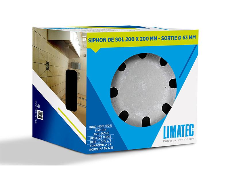 Déclinaison du packaging au design exclusif LIMATEC - Batiweb
