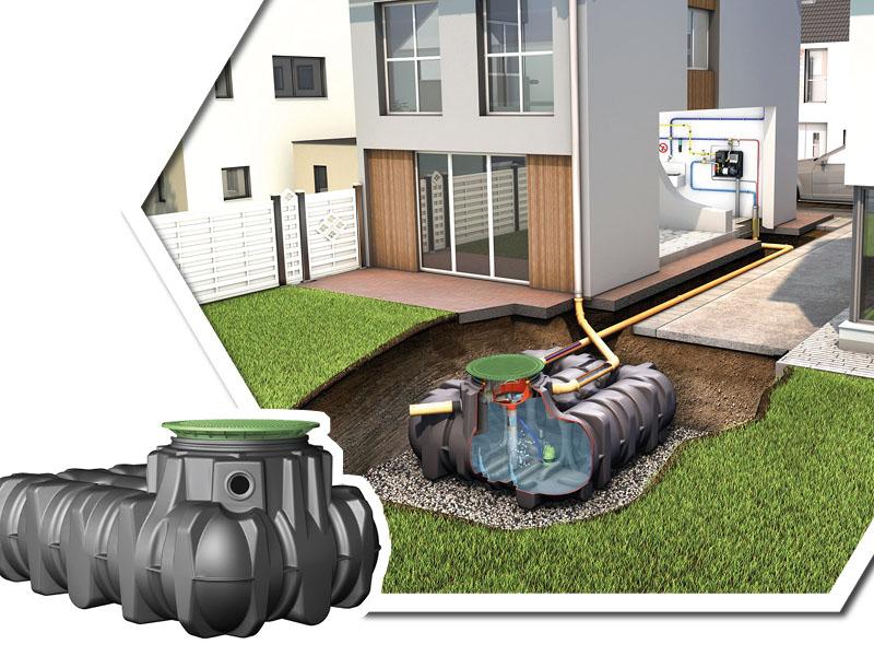 Gestion intégrée des eaux pluviales : Cuves extra‐plates Platine, la solution pour gérer l'eau de pluie là où elle tombe. - Batiweb