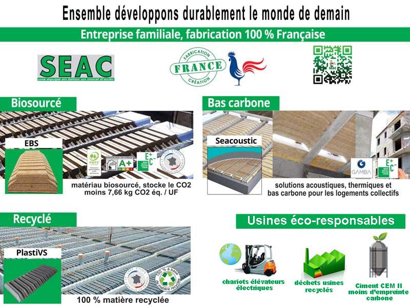 Seac s'engage dans le développement durable - Batiweb