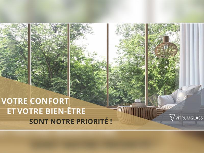 Augmenter votre confort et votre bien-être avec nos vitrages - Batiweb