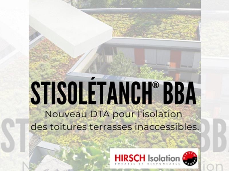 HIRSCH Isolation met à jour deux DTA pour l'isolation des toitures terrasses - Batiweb