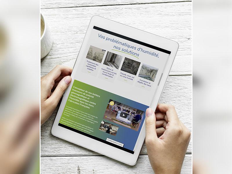 Humidistop, l'entreprise française prend le virage du 100% digital et cartonne malgré la crise - Batiweb
