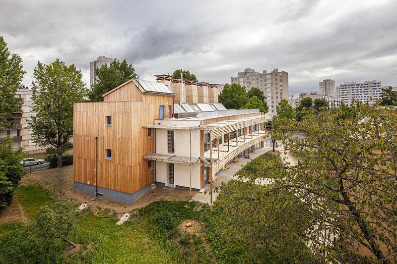 Centre de loisirs Jacques Chirac, Crédit : Juan Sepulveda, Marie-Amélie Lombard, Ville de Rosny-sous-Bois, Joelle Mons