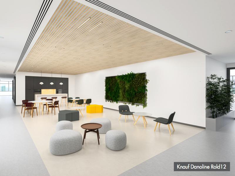 À la recherche d'inspiration ? Découvrez Rold12, le dernier né de la gamme de plafonds plâtre Knauf Danoline ! - Batiweb