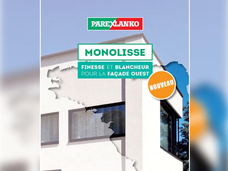 MONOLISSE : finesse et blancheur pour la façade Ouest - Batiweb