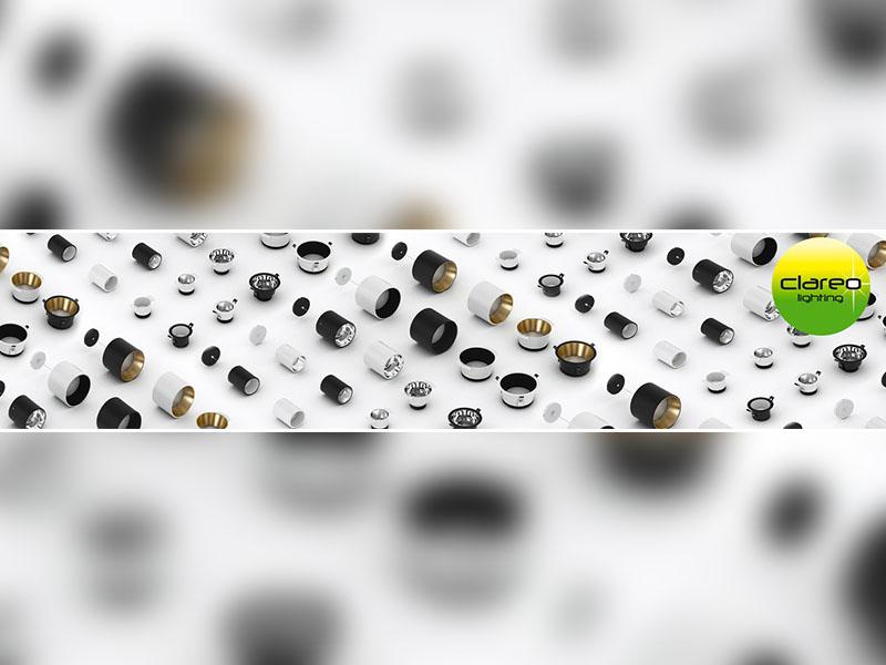Nouveauté CLAREO : Plus de 175 combinaisons possibles avec la nouvelle gamme CLAREO de downlights DESIGN ! - Batiweb