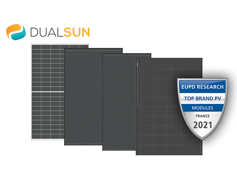 EUPD Research décerne le label «Top Brand PV 2021» à DualSun - Batiweb