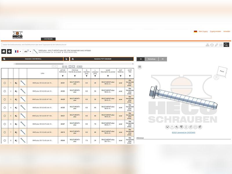 Les vis HECO désormais compatibles avec BIM grâce à des données CAO fiables pour une conception optimisée des bâtiments - Batiweb