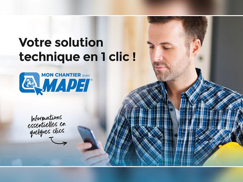 MON CHANTIER avec MAPEI : la solution digitale pour faciliter la vie ! - Batiweb