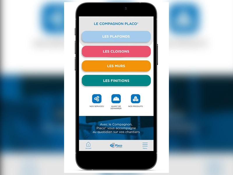 PLACO® lance sa nouvelle application « LE COMPAGNON PLACO® » - Batiweb