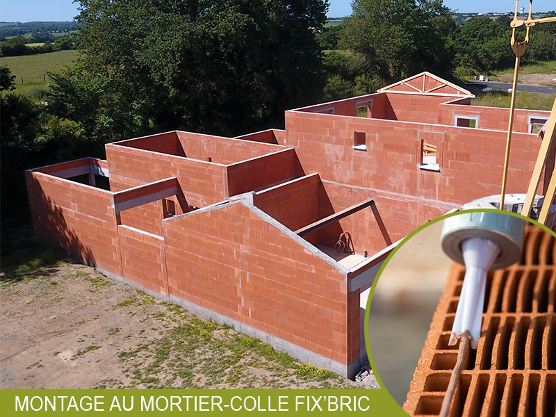 Comment révolutionner la mise en œuvre des briques de mur sur chantiers ? - Batiweb
