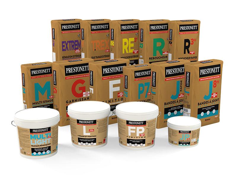 Spécial Professionnels : avec ses nouveaux packagings, Beissier valorise l'usage des références PRESTONETT - Batiweb