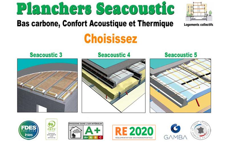Planchers Seacoustic 3, 4, 5 : Choisissez - Batiweb