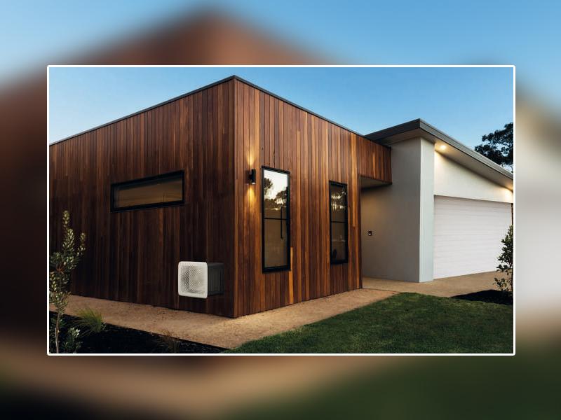 OUTSTEEL par Cheminées Poujoulat : une nouvelle marqué dédiée à l'intégration parfaite des pompes à chaleur et climatisationà l'extérieur de la maison - Batiweb