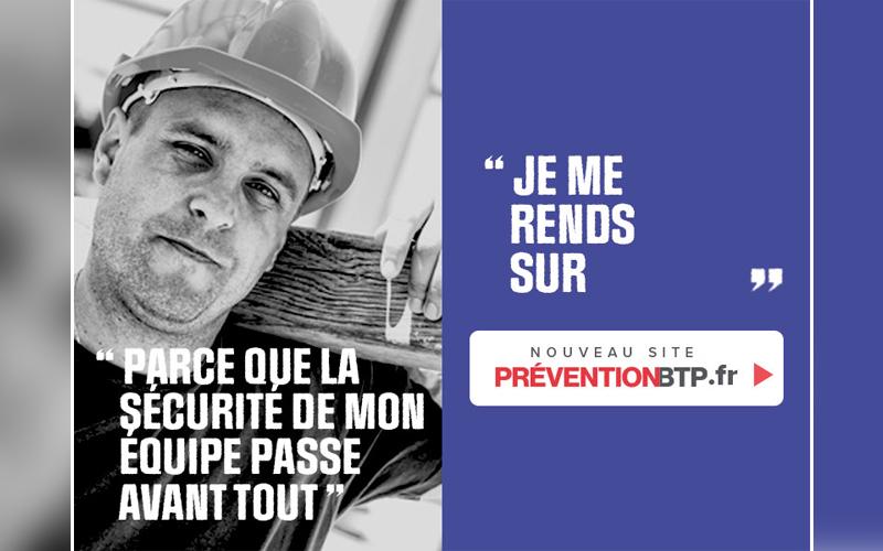 Nouveau site preventionbtp.fr - Batiweb
