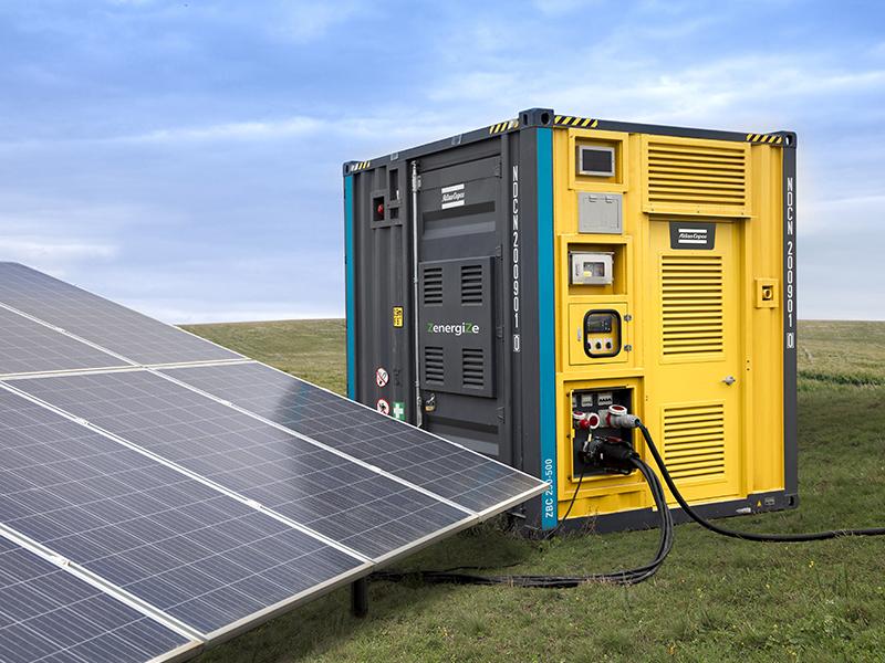 Les nouveaux systèmes de stockage d'énergie d'Atlas Copco optimisent les applications haute puissance avec jusqu'à 2 MW d'énergie - Batiweb