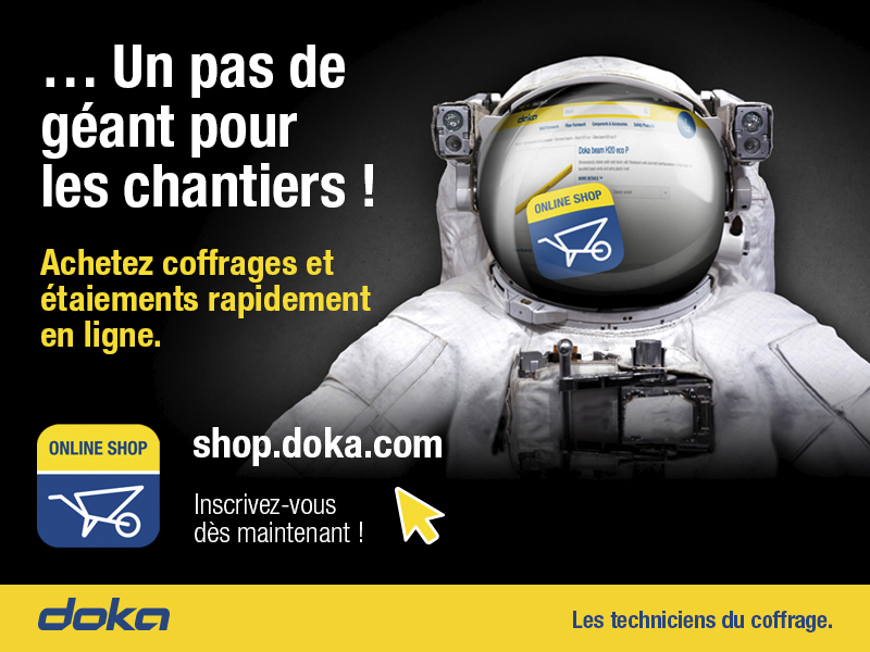Découvrez la nouvelle boutique en ligne Doka France ! - Batiweb