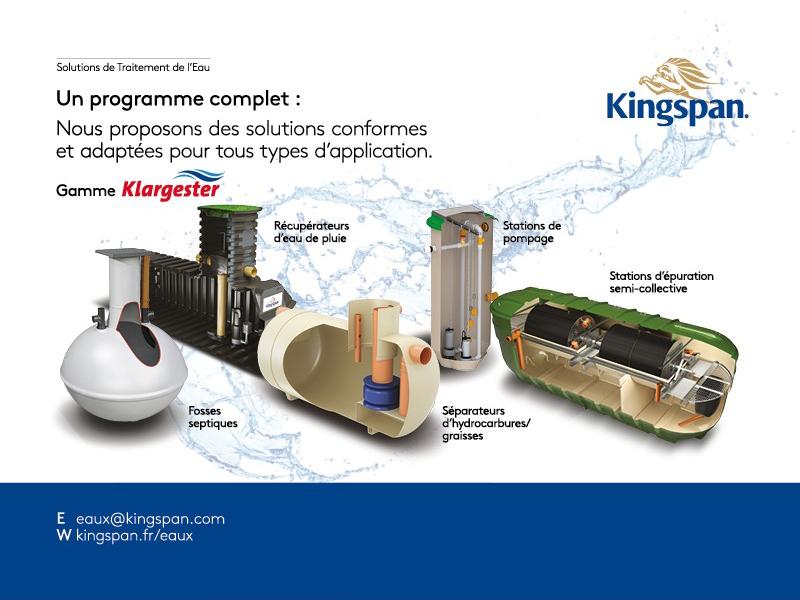 Kingspan Expert en traitement des eaux usées - Batiweb
