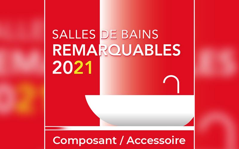Geberit Duofix distingué au Palmarès des Salles de Bains Remarquables 2021 - Batiweb