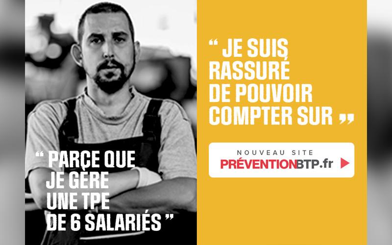 Découvrez le nouveau site preventionbtp.fr - Batiweb