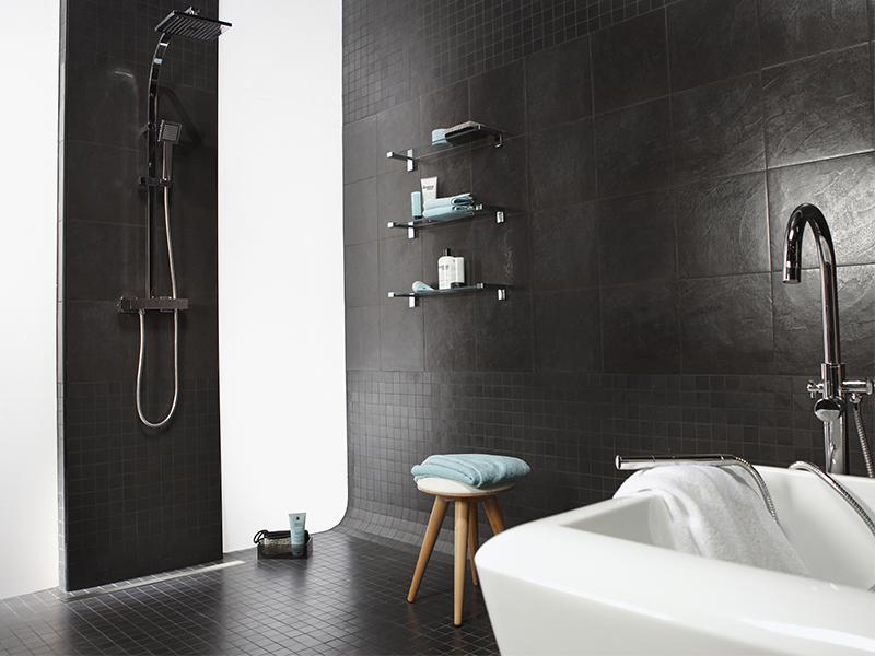 Les solutions zéro ressaut CERMIX pour douches à l'italienne finition carrelée - Batiweb