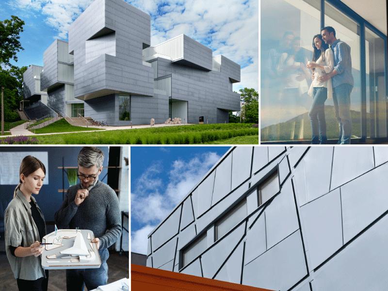 La façade en zinc: aussi individualisée que vous - Batiweb