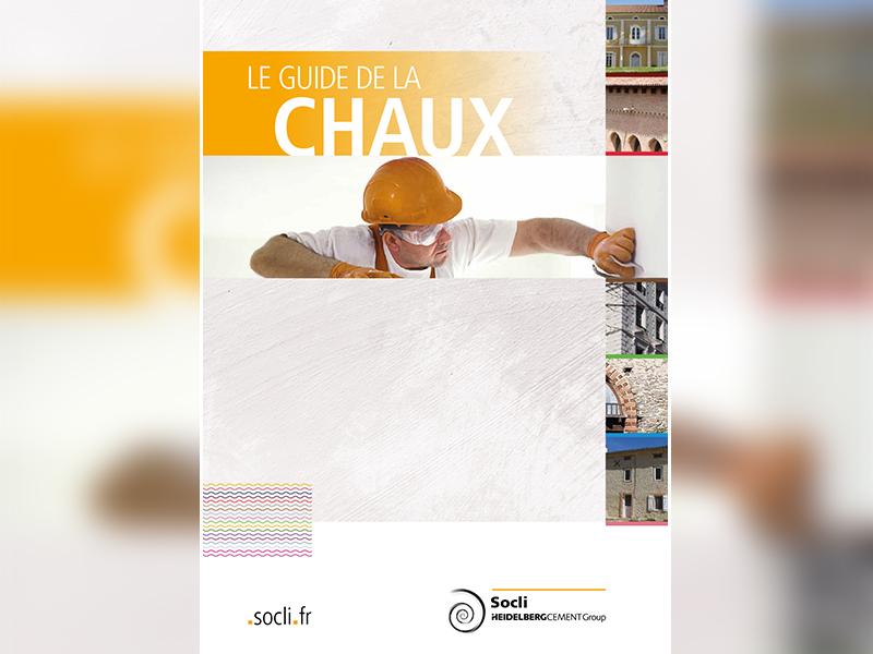 Nouveau Guide de la Chaux Socli, recto pour les artisans, verso pour les prescripteurs - Batiweb